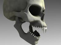 3ds vampire skull