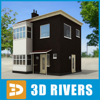Small town house 10 by 3DRivers