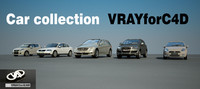 Car collection - VRay for C4D users