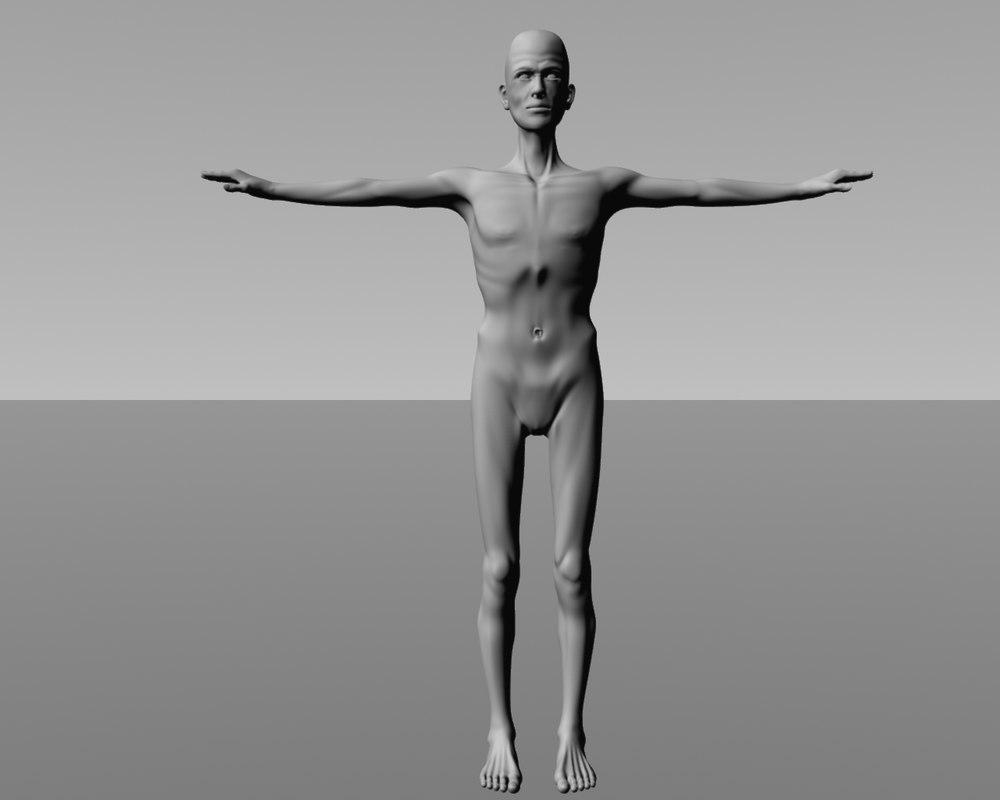 human fantasy 3d model