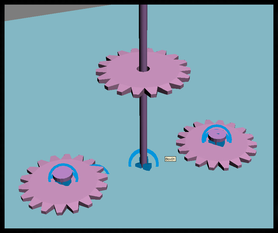 reactor gear 3d model