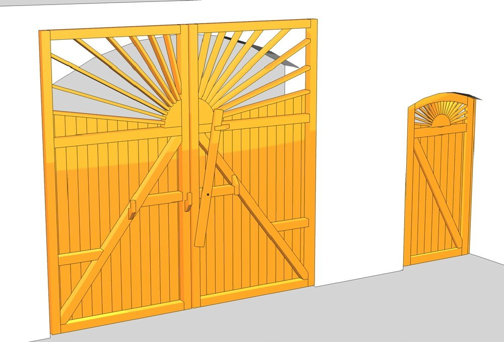 3ds yard gate