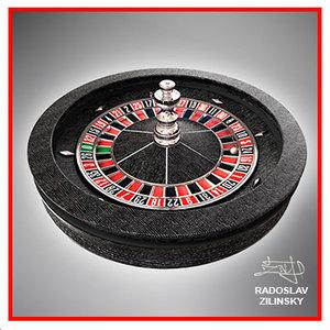roulette wheel realistic 3d 3ds