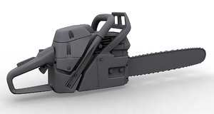 3d subdivision chainsaw model