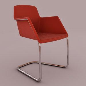 3d 3ds peek chair