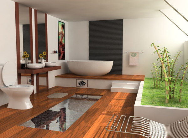 bathroom 2 3d model