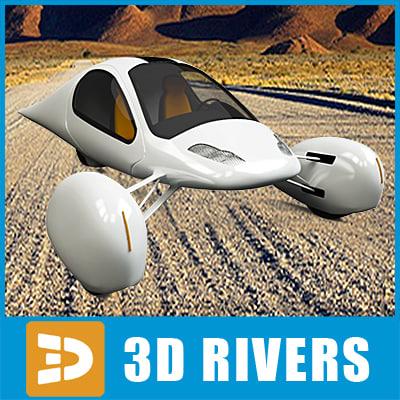 futuristic vehicle aptera max