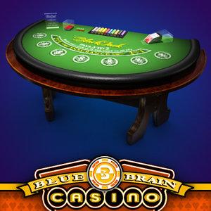 casino blackjack table - 3d x