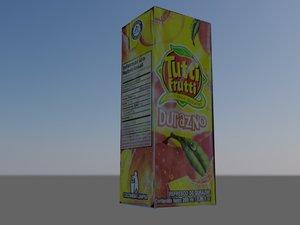 free caje jugo 3d model