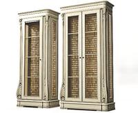 3d model classical wardrobe