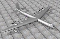 3ds max convair b36 bomber