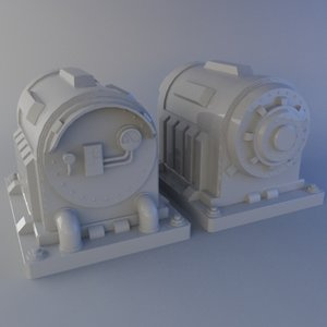 3ds max sci-fi generator
