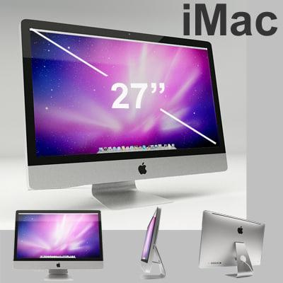imac monitor 3d 3ds