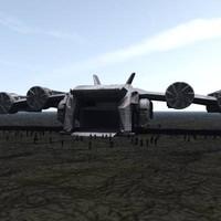 oldtransship transport 3d model