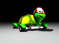 3d fastes turtle model