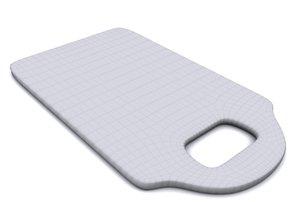 3d model tabla picar