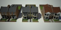 Terraced House_Low poly.max