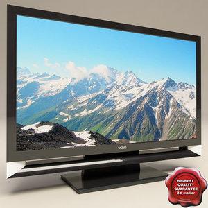 vizio tv 3d model