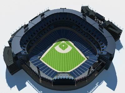 baseball stadium 3d 3ds