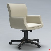 3d chair office