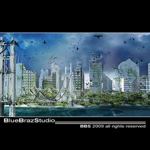 3dsmax destroyed city
