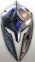 3d fantasy helmet model