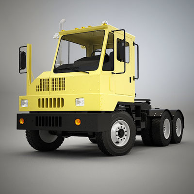 yard tractor 3d model