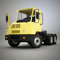 yard tractor 3d model