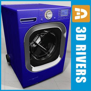 3ds max blue dryer