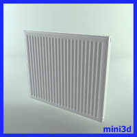 radiator living room 3d max