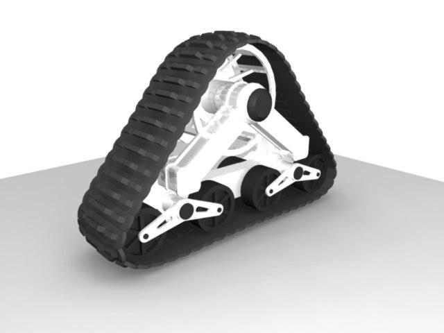 treads vehicle mattrax 3d model