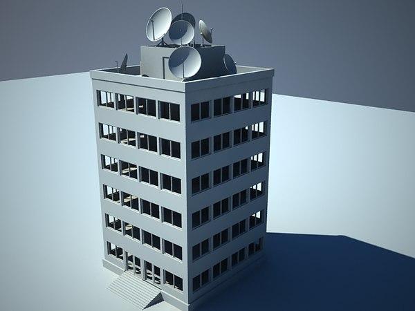 center building 3ds
