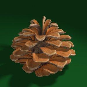 3ds max pine cone