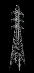 3ds max power pylon