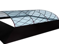 3ds max glass roof