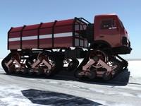 Snow-Fire Truck