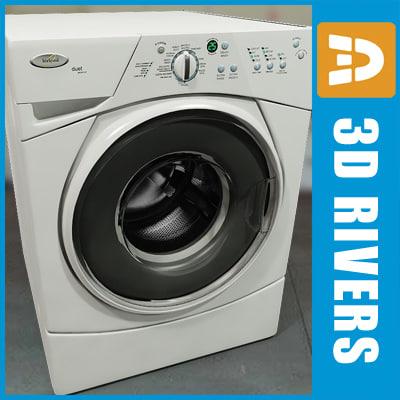 3dsmax washing machine washer