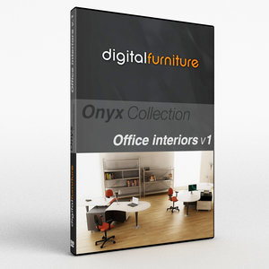 3d model of onyx office interiors
