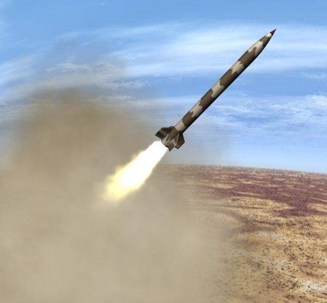 iranian artillery zelzal 1 3d 3ds