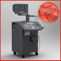 ultrasound machine 3d obj