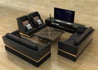 3ds max sofa combination
