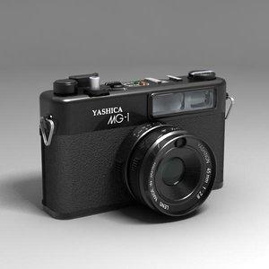 antique camera 3d obj
