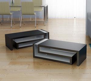 3dsmax greca versace coffee table