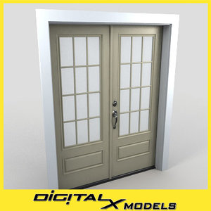 3ds residential entry door 30