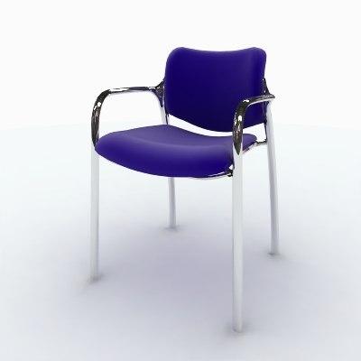 sc 1 st  TurboSquid & 3d model herman miller aside stacking chair