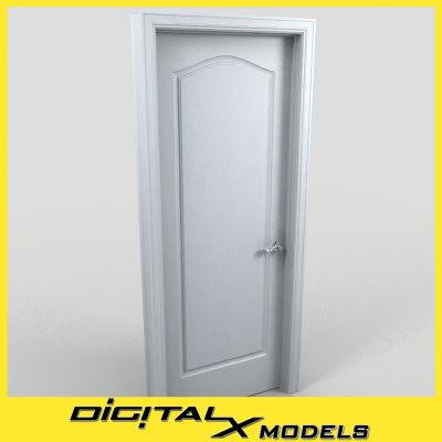 residential interior door 14 3d 3ds