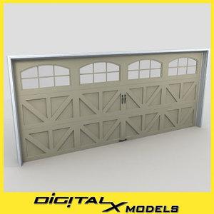 3d residential garage door 25