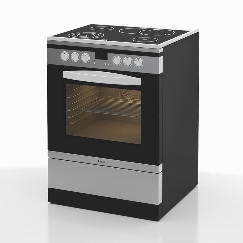 3d model of cooker 04