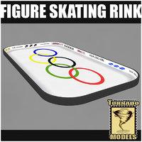 3d 3ds figure skating rink