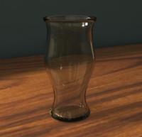 maya glass vase